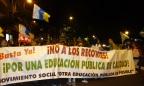 Jueves 9 de mayo. Sin clases. #Huelga en la educación pública